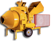 520 HYDRAULIC MIXER WITH ELECTRIC MOTOR